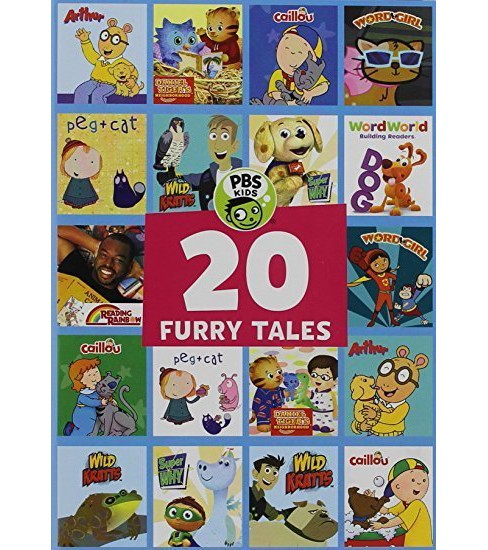 PBS Kids: 20 Furry Tales (DVD) - image 1 of 1