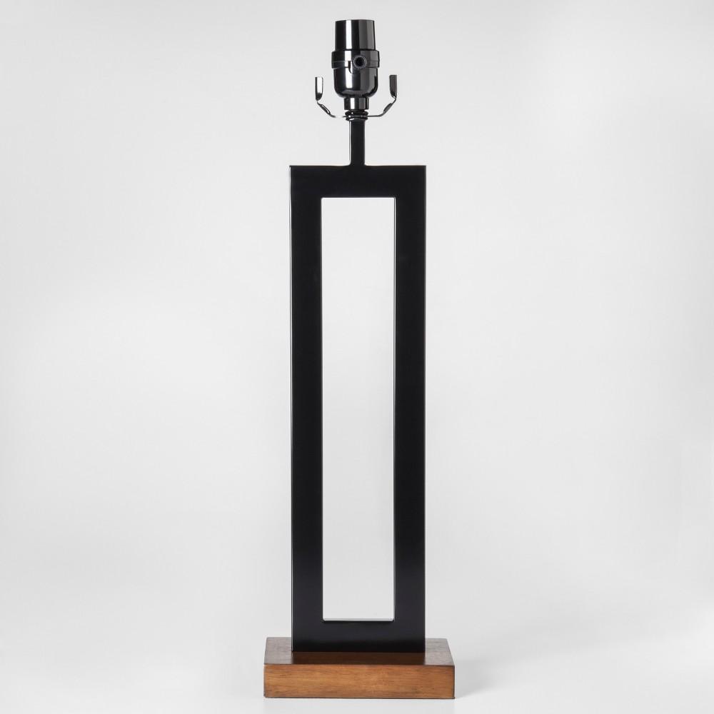 Weston Window Large Lamp Base Black Includes Energy Efficient Light Bulb - Project 62
