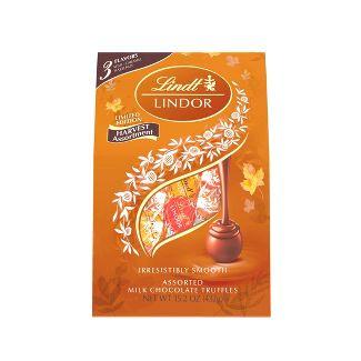 Lindor Halloween Harvest Assorted Chocolate - 15.2oz