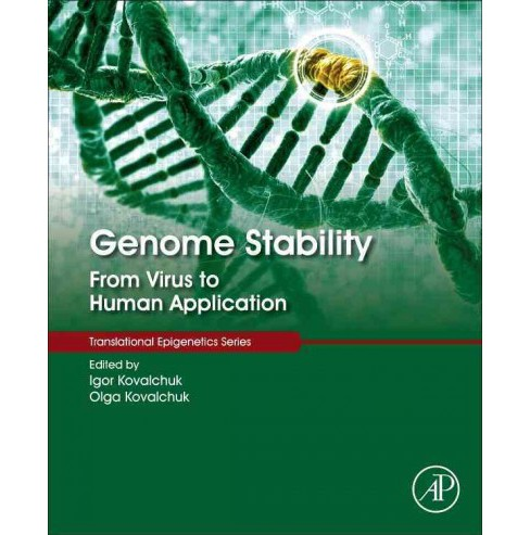 Genome Stability : From Virus to Human Application (Hardcover) - image 1 of 1