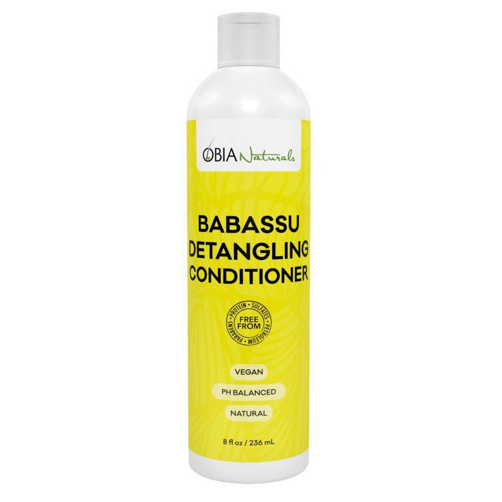 Image of Obia Naturals Babassu Detangling Conditioner - 8 fl oz