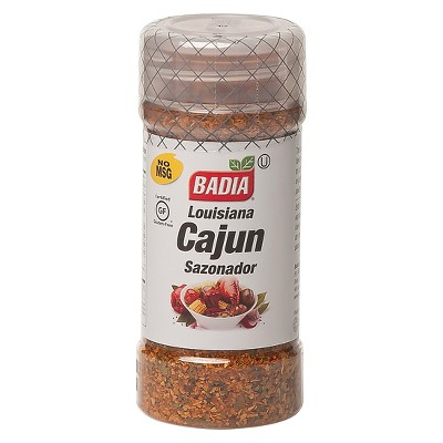 Badia Gluten Free Cajun Louisiana Seasoning - 3oz