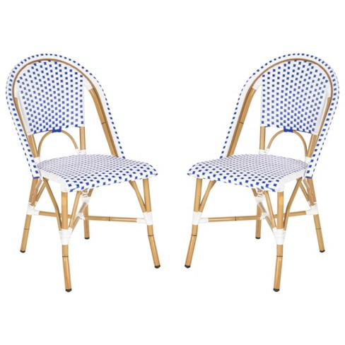 Toulouse 2-Piece Wicker Patio Side Chair Set - Safavieh® - image 1 of 7
