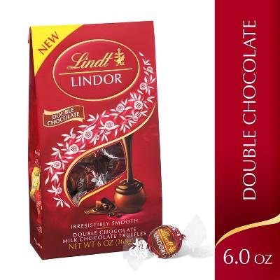 Lindt Lindor Double Chocolate Truffles - 6oz