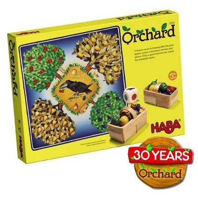 HABA Orchard Game - Classic Cooperative Board Game (Made in Germany)