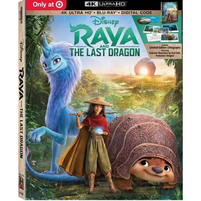 Raya and the Last Dragon (Target Exclusive)(4K/UHD + Blu-ray + Digital)