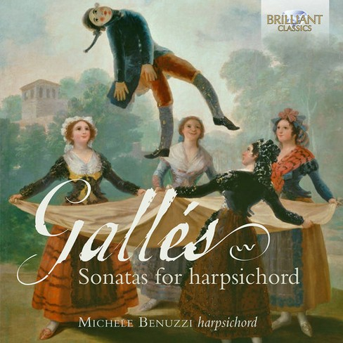 Michele Benuzzi - Galles:Sonatas For Harpsichord (CD) - image 1 of 1