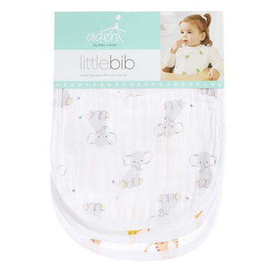 Aden by Aden + Anais Little Bibs Set 3pk- Safari Babes