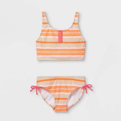 Girls' Sahara Striped Midkini Set - art class™