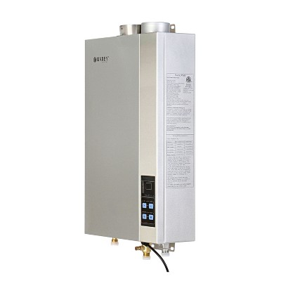 Marey GA14CSANG 97000 BTUs Residential CSA Certified Natural Gas Tankless Water Heater with 3 Points of Use, Auto Activation, and Digital Display