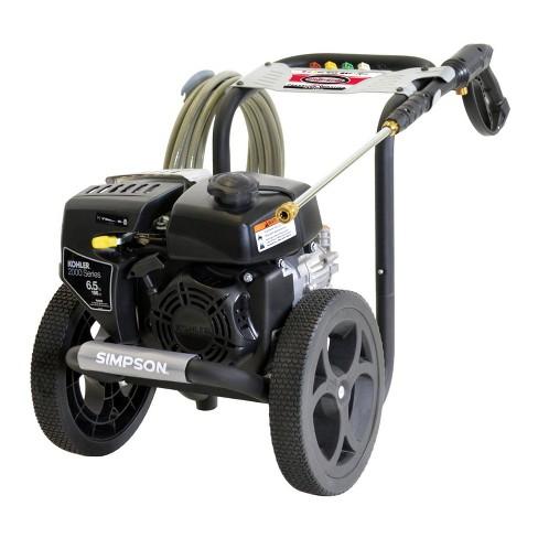 Simpson Megashot 2 4Gpm 3100 Psi Gas Power Kohler Engine High Pressure  Washer