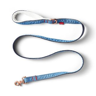 Denim & Sherpa Pet Leash - 6ft - Blue - Levi's® x Target