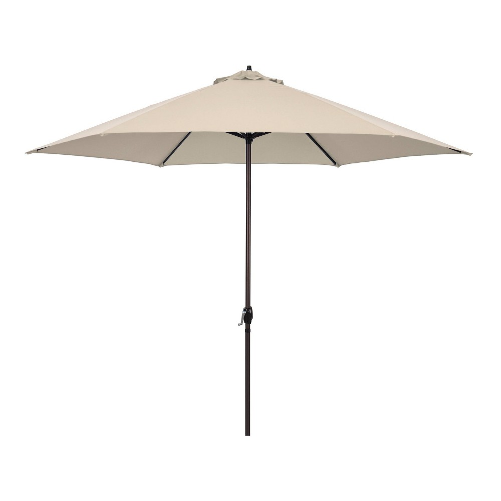 Image of 11' Patio Umbrella - Aluminum Pole with Crank Lift Beige - Astella