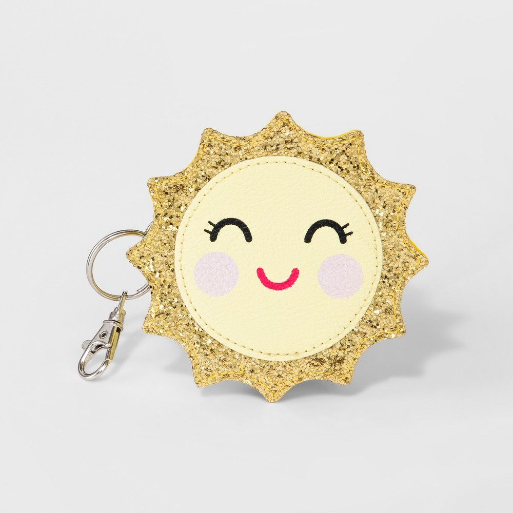Girls' Sun Coin Purse - Cat & Jack Yellow Girls' Sun Coin Purse - Cat & Jack Yellow Gender: Female. Age Group: Kids.