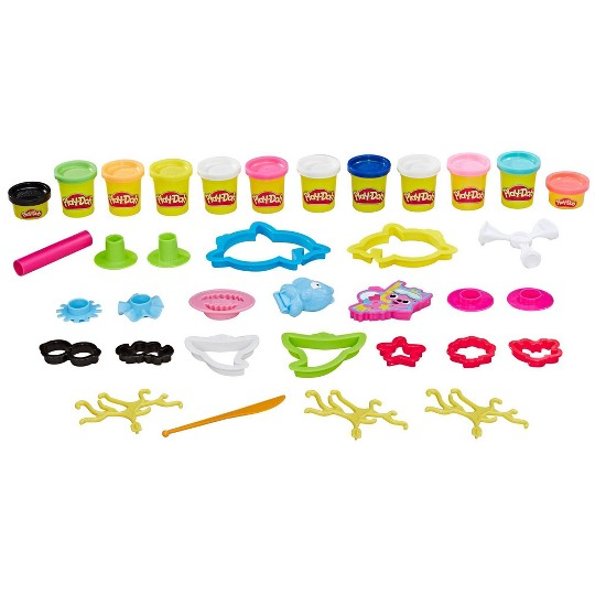 Play-Doh Pinkfong Baby Shark Set with 12 Non-Toxic Play-Doh Cans image number null