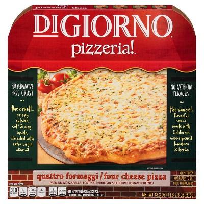 DiGiorno® Pizzaria Four Cheese - 18.3oz