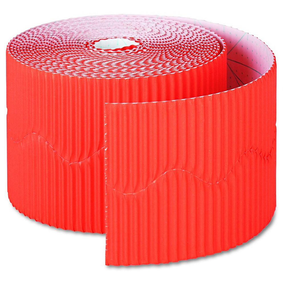 "Image of ""Pacon Bordette Decorative Border, 2 1/4"""" x 50' Roll, Orange"""
