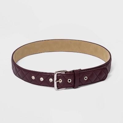 Women's Quilted Belt - Wild Fable™ Purple