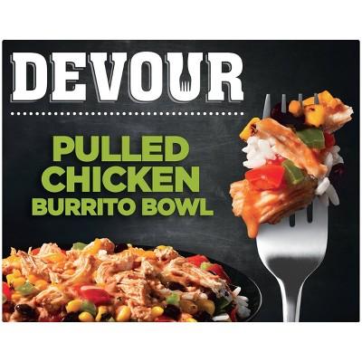 Devour Frozen Pulled Chicken Burrito Bowl - 12oz