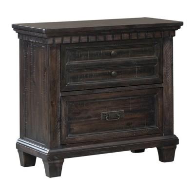 Steele Nightstand Dark Oak - Picket House Furnishings