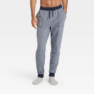Men's Double Weave Jogger Pajama Pants - Goodfellow & Co™ Fighter Pilot Blue