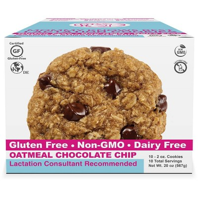 Mommy Knows Best Ready To Eat Gluten & Dairy Free Oatmeal Chocolate Chip Cookies