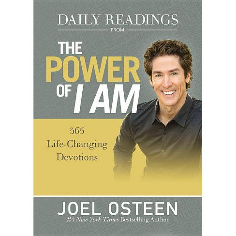 Daily Readings from the Power of I Am - by Joel Osteen (Hardcover)