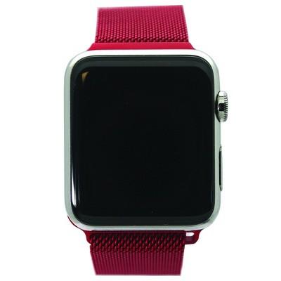 Olivia Pratt Solid Mesh Apple Watch Band