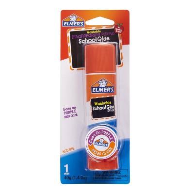 Elmer's Washable Glue Stick - Disappearing Purple