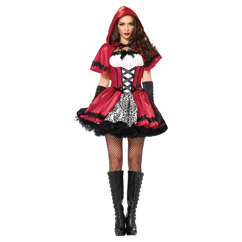 Women's Gothic Costume Red - image 1 of 1