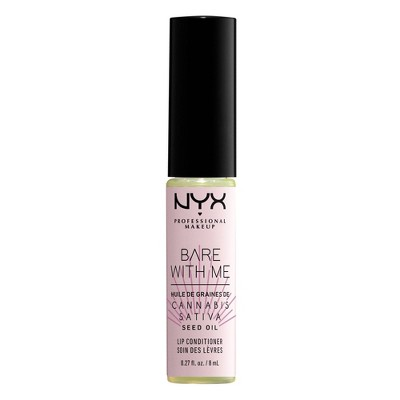 NYX Professional Makeup Bare with Me Cannabis Lip Conditioner - 0.27 fl oz
