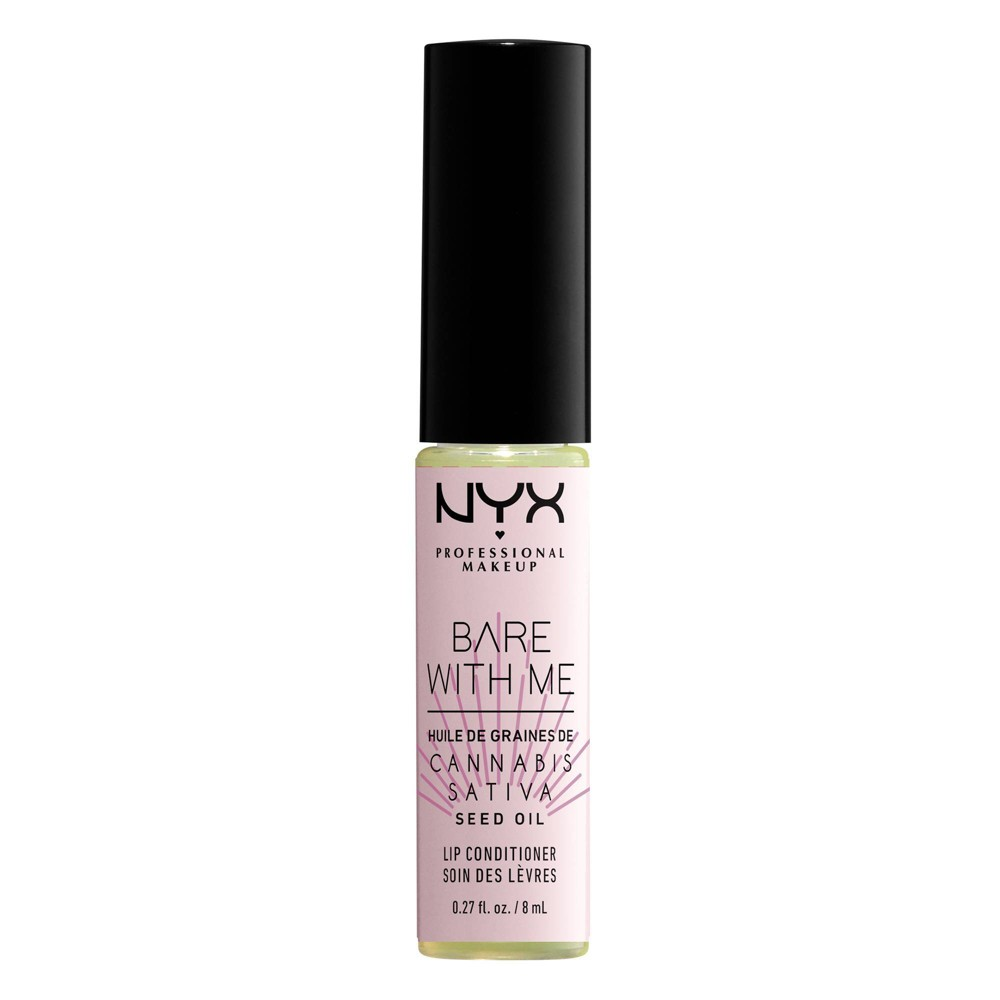 Image of NYX Professional Makeup Bare With Me Cannabis Lip Conditioner - 0.27 fl oz