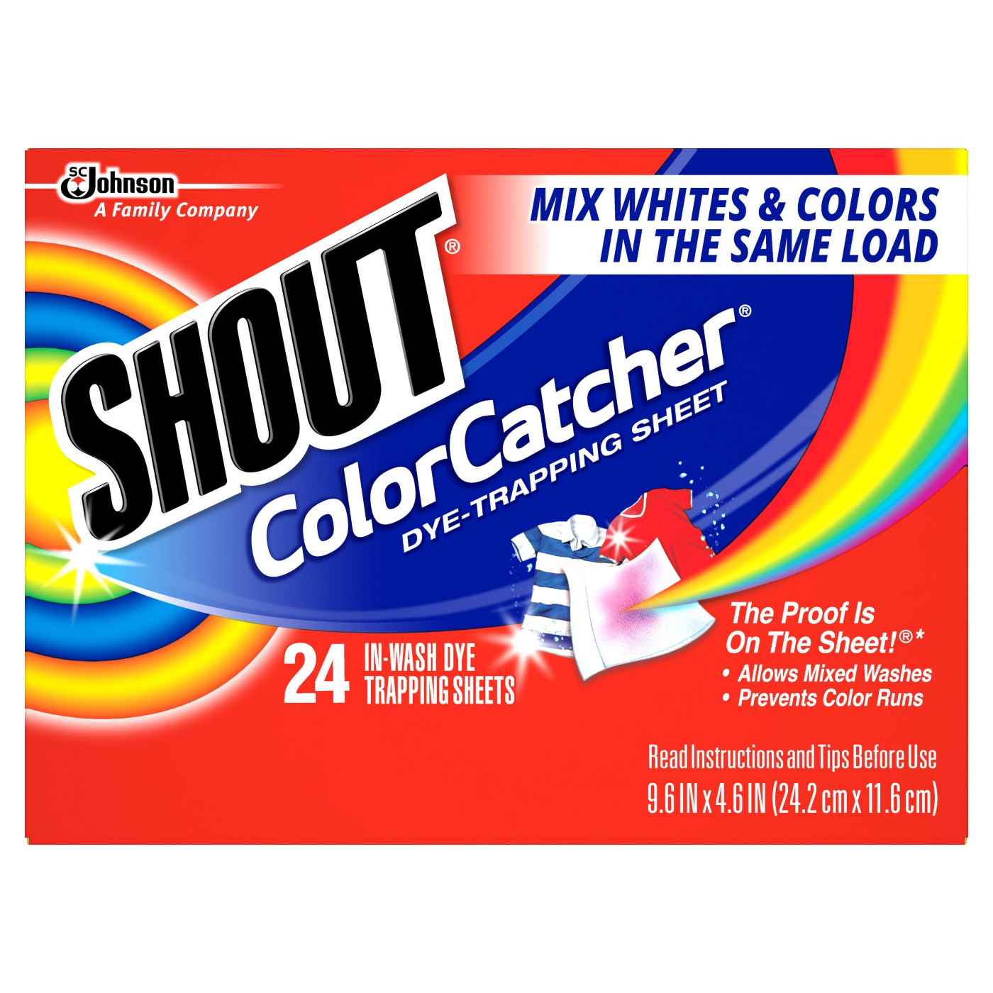 Shout Color Catcher 24ct - image 1 of 4