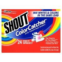 48-Count Shout Color Catcher + Free $5 Target GC Deals