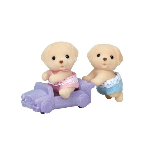 Calico Critters Yellow Lab Twins - image 1 of 2