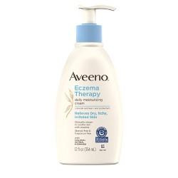 Aveeno Eczema Therapy Daily Moisturizing Cream with Oatmeal- 12 fl oz