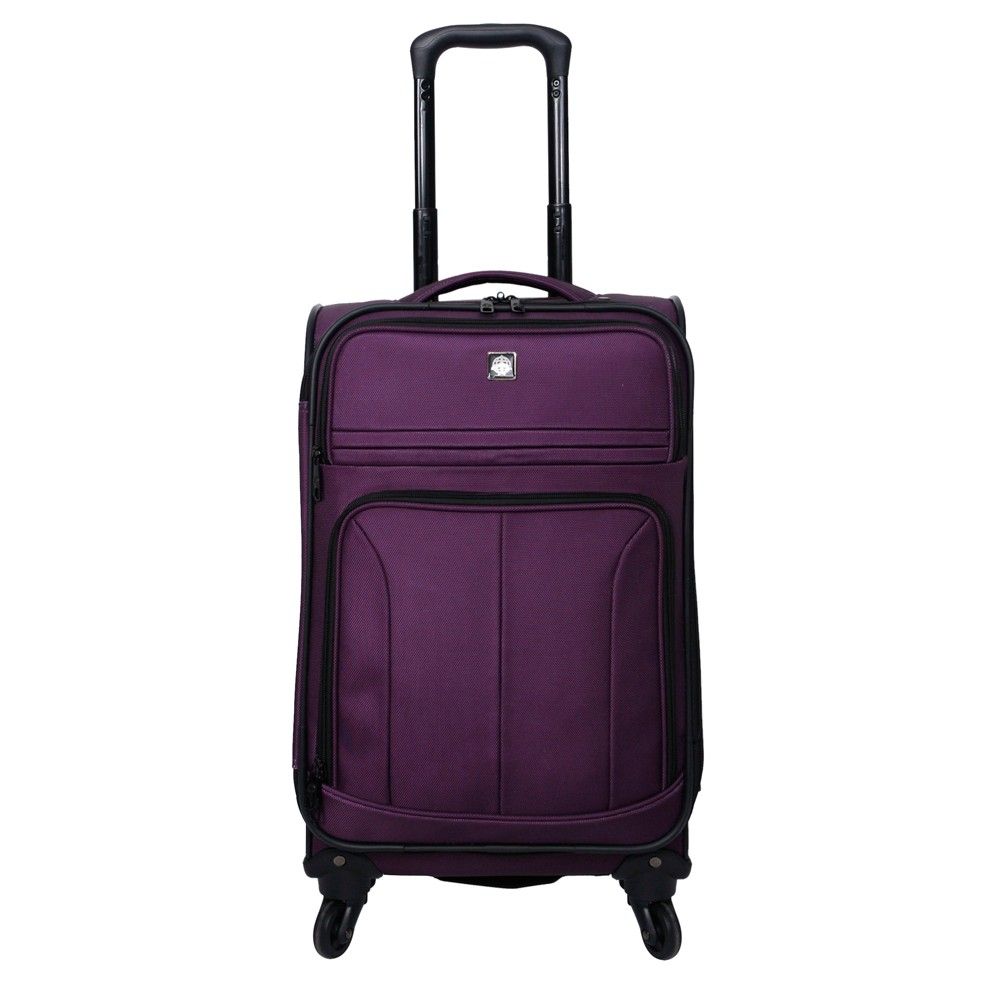 "Image of ""Skyline 21"""" Spinner Suitcase - Purple"""