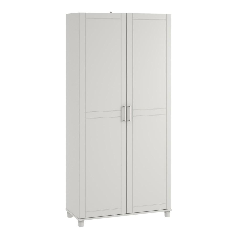 36 Welby Utility Storage Cabinet White - Room & Joy