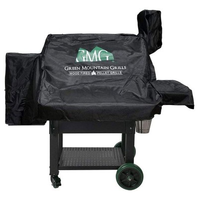 Green Mountain Grills Daniel Boone Prime WiFi Smart Grill Outdoor All Weather Cover, Protects Against Rain, Sun, and Wind, Black (Cover Only)