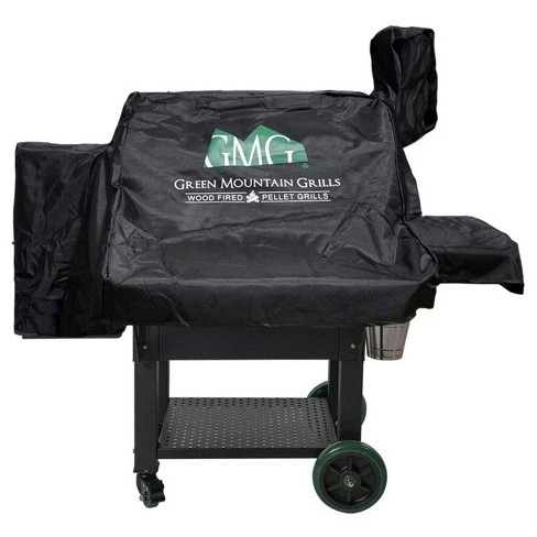 Green Mountain Grills Daniel Boone Prime WiFi Smart Grill Outdoor All Weather Cover, Protects Against Rain, Sun, and Wind, Black (Cover Only) - image 1 of 3