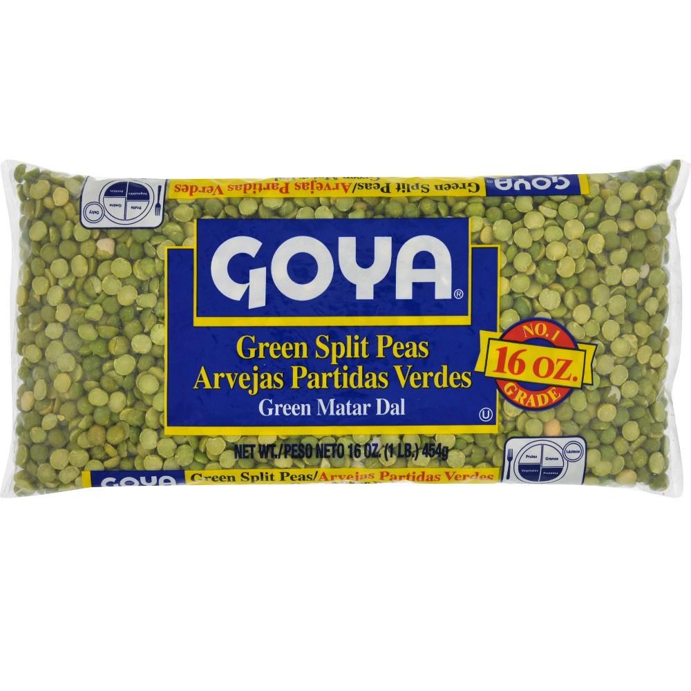 Goya Green Split Peas 16 oz
