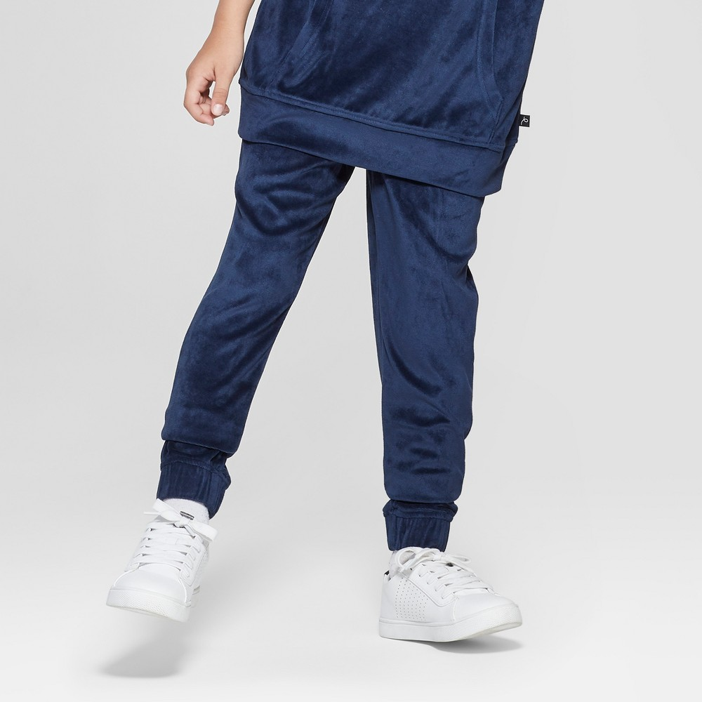 Boys' Velour Jogger Pants - art class Blue XL