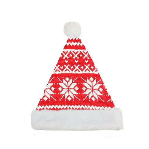 northlight traditional red and white plush unisex adult christmas santa hat costume accessory large target northlight traditional red and white plush unisex adult christmas santa hat costume accessory large