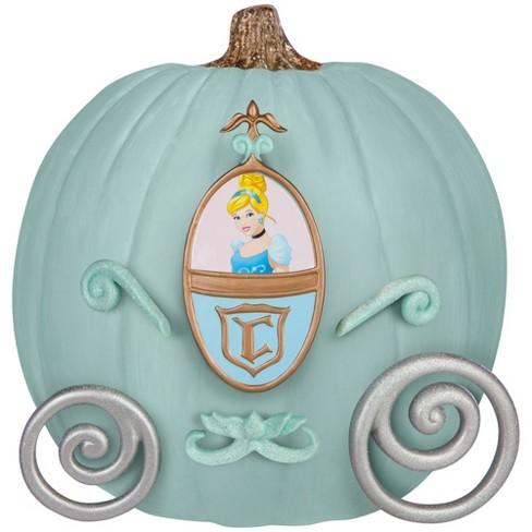 Disney Cinderella 8pc Halloween Pumpkin Push-In Decorating Kit - image 1 of 2