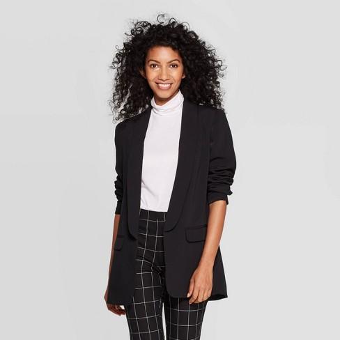 Women's Long Sleeve Boyfriend Blazer - A New Day™ - image 1 of 3