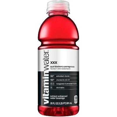 vitaminwater xxx aai- blueberry-pomegranate - 20 fl oz Bottle