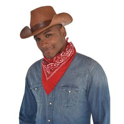 Adult Western Burlap Hat Accessory Halloween Costume