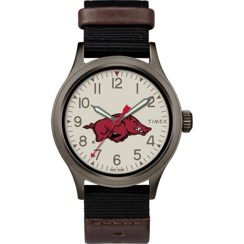 NCAA Arkansas Razorbacks Tribute Collection Clutch Men's Watch - image 1 of 1