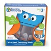 Learning Resources Wise Owl Teaching Bank, Money Toy, Save Spend Give Bank, Ages 3+ - image 4 of 4