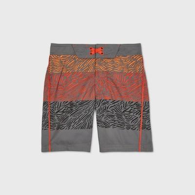 Boys' Animal Colorblock Swim Trunks - art class™ Gray